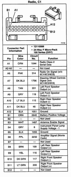 Gmc Sierra Radio Wiring Diagram 3713 Archivolepe Es
