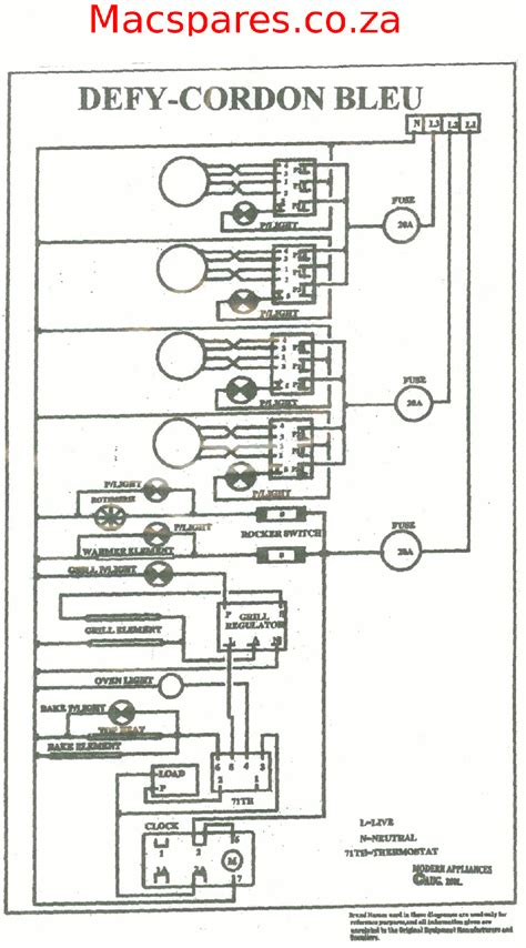 wiring diagrams stoves macspares wholesale spare