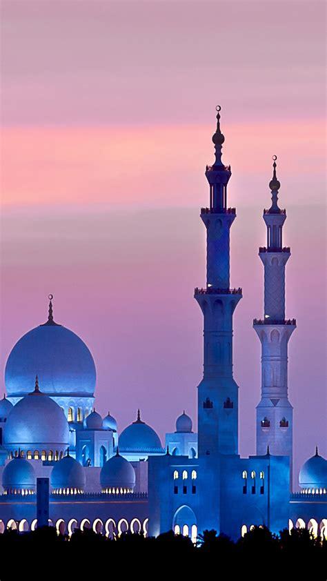 koleksi background pemandangan masjid hd
