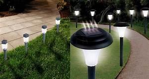 Lumiere Jardin Solaire : les lampes solaires de jardin et d 39 ext rieur viennent ~ Premium-room.com Idées de Décoration