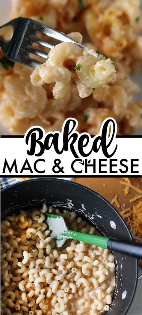 2 boxes kraft macaroni and cheese, 1 can cream of. Homemade Baked Macaroni and Cheese is a delicious, super rich, five cheese baked mac and cheese ...