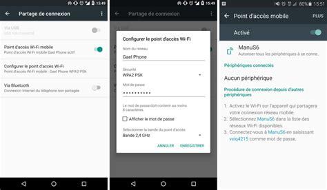 comment connecter un ordinateur de bureau en wifi comment partager la connexion de smartphone android