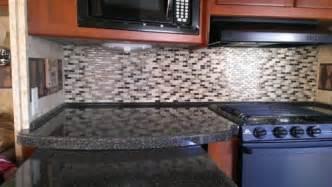 self adhesive kitchen backsplash tiles rv mods smart tiles self adhesive kitchen tile backsplash mod