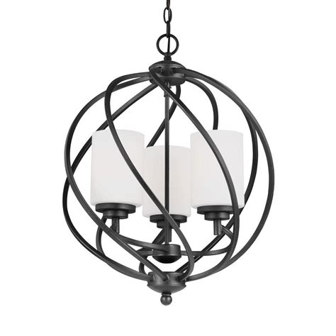 seagull lighting pendant sea gull lighting goliad 3 light blacksmith foyer