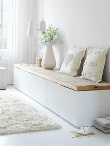 Sitzbank Mit Stauraum : le banc de rangement un meuble fonctionnel qui ~ Frokenaadalensverden.com Haus und Dekorationen