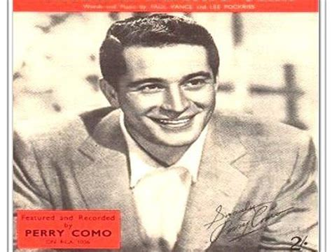 perry como early life the recording industry association of america awards first