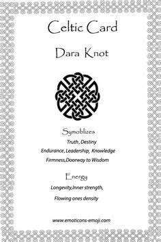 Image result for dara knot | Dara Knots | Celtic symbols, Celtic knot tattoo, Celtic symbols
