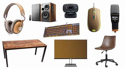 Cheap Gaming Setup Camera Retro Chair Desk