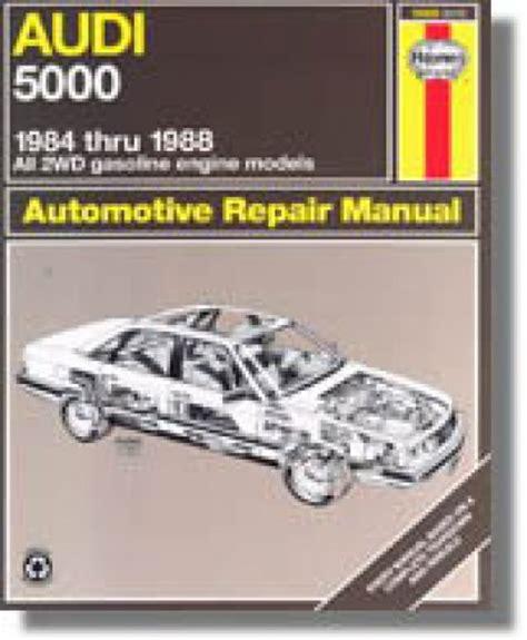 service manuals schematics 1986 audi 5000s free book repair manuals haynes audi 5000 1984 1986 auto repair manual