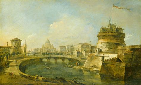 filefanciful view   castel santangelo rome