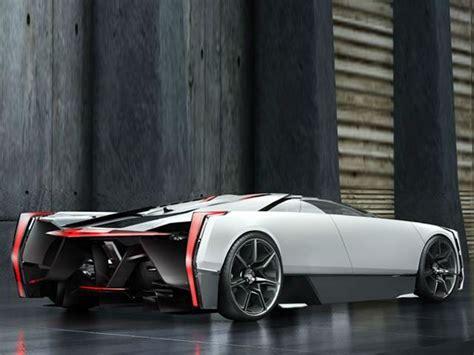 Cadillac Mid Engine by 2018 Cadillac Cien Supercar Concept Rear Wheel Drive