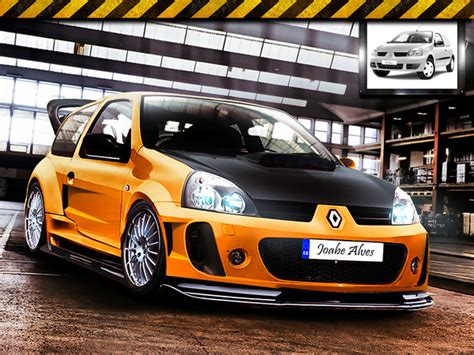 renault clio 4 tuning renault clio tuning by joabedesign on deviantart