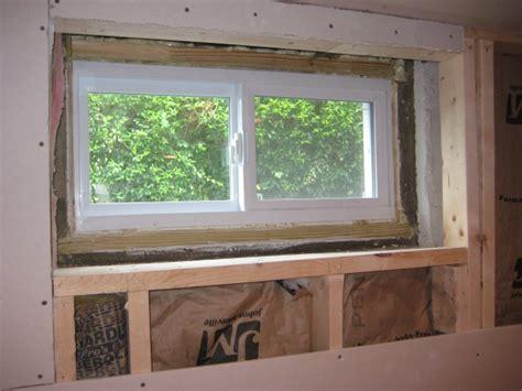 Framing And Trimming Basement Window  Carpentry Diy