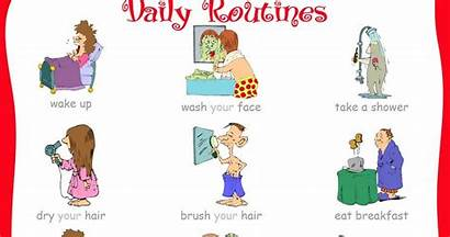 Daily Routines Activities Students English Lesson Plan