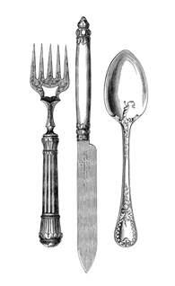 kitchen forks and knives vintage kitchen clip fork knife spoon the graphics