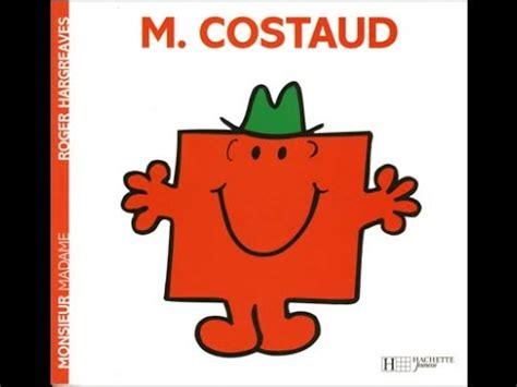 les monsieur madame mr costaud