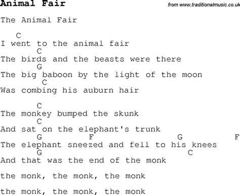 childrens songs  nursery rhymes lyrics  chords