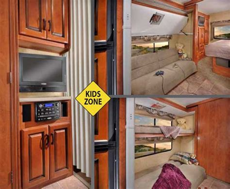 class c motorhome with bunk beds class a rv with bunk beds
