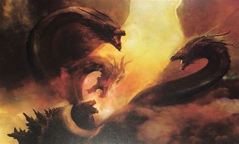 King Ghidorah Looms Large On Jaw Dropping 'godzilla