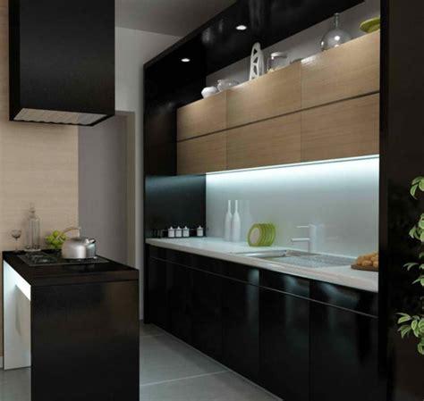 modern kitchen cabinets black 15 contemporary kitchen with black cabinets rilane Modern Kitchen Cabinets Black