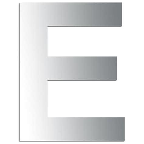 si e e 3 lettres miroir adhésif lettre e majuscule 3 2 cm lettre miroir