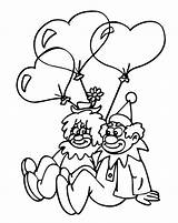 Clown Coloring Pages Printable Happy Face Sad Template Popular sketch template
