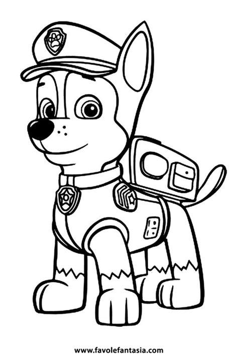 disegni da colorare paw patrol paw patrol da colorare favole e fantasia