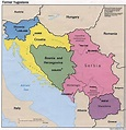Former Yugoslavia Maps - Perry-Castañeda Map Collection ...