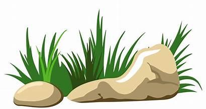 Transparent Stones Clipart Grass Yopriceville