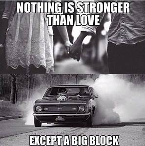 What about bein... Muscle Car Racing Quotes