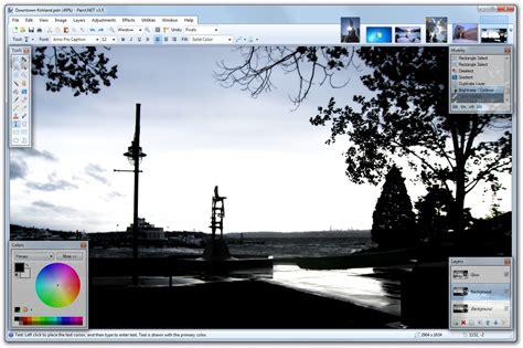 paintnet screenshots