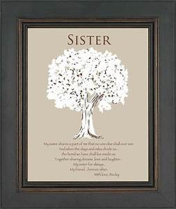 Sister gift personalized gift for sister wedding gift for Wedding gift for sister