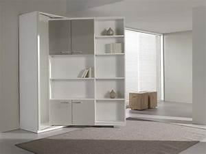 mobilier table bibliotheque lit With meuble gain de place studio 1 lit relevable lit escamotable lit rabattable antony deco