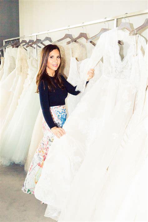 wedding dress designer monique lhuillier