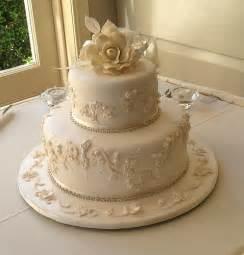 two tier wedding cake elaborate 1 2 tier wedding cakes flickr photo