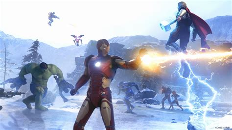 marvels avengers patch  released fixes multiple crashes improves matchmaking