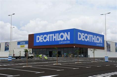 decathlon ultima en lanzarote su sexta tienda en canarias cmd sport
