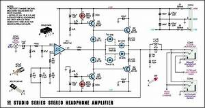 Studio Series Stereo Headphone Amplifier Circuit Opa2134