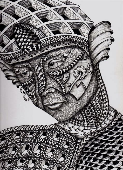 zentangle face zentangle zentangle patterns pictures