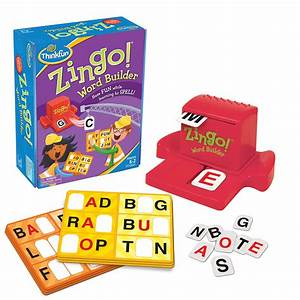 Thinkfun zingo word builder educational toys online for Zingo letters