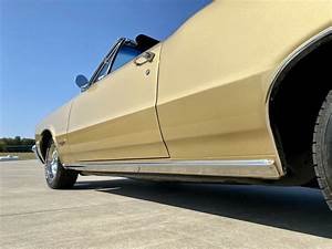 1965 Pontiac Gto Tiger Gold Convertible For Sale