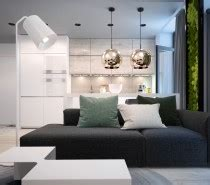 Two Modern Apartments With Perfectly Placed Bursts Of Colors by Three Luxurious Apartments With Modern Interiors An