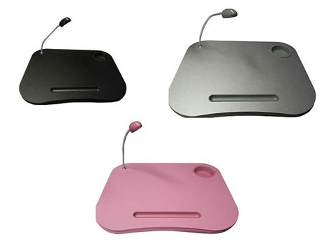 Cushioned Desk With Light by Portable Laptop Cushion Tray Desk Reading Light Table