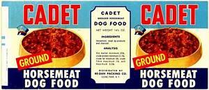 -Gaper Delay-: Pet Food Labels