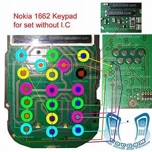 Nokia 1662 Keypad Ways Without Sim Ic Problem Solution