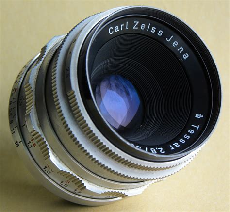 with carl zeiss lens opinions on zeiss tessar