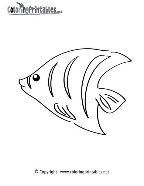 Tropical Fish Coloring Pages by Sea Fish Coloring Pages Word Free Tropical Fish