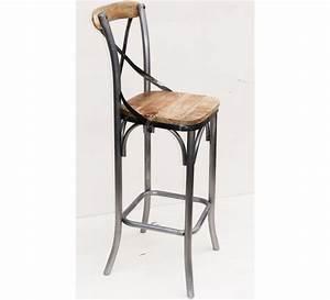 Chaise Bar Industriel : chaise haute pin 4273 ~ Farleysfitness.com Idées de Décoration