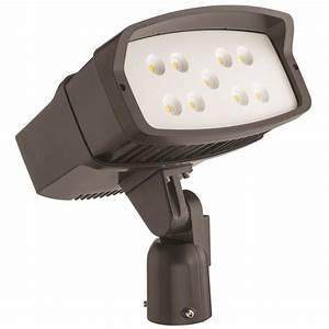 Juno msl series outdoor bronze led mini security light