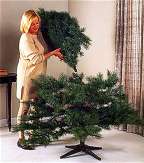 artificial christmas tree assembly instructions tree classics